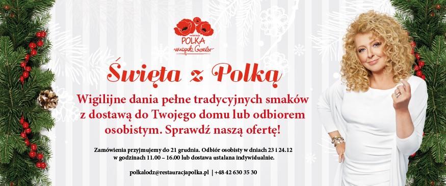 Święta z daniami z Polki